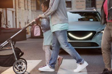 Semcon公布车与外部环境微笑交互概念