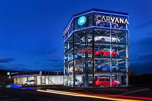 CARVANA汽车自动贩卖机
