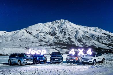 冰雪试驾Jeep全系SUV:一个品牌的平行世界与多元生活