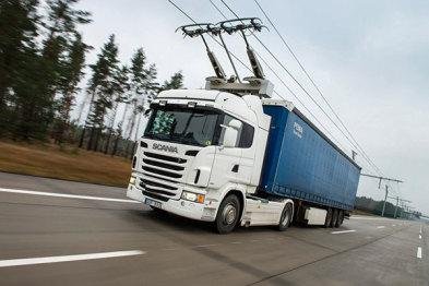 西门子推行eHighway高速卡车充电系统