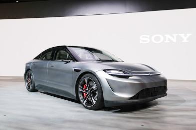 索尼大法好,不声不响突然带给你一辆新车Vision-S