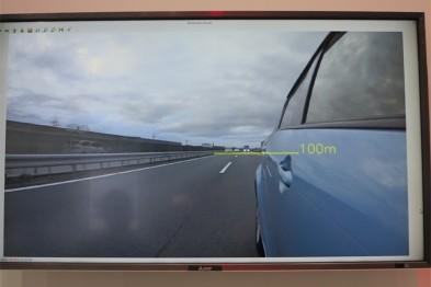 三菱电机推新型安全驾驶支持系统,可通过电子后视镜精确识别远方车辆