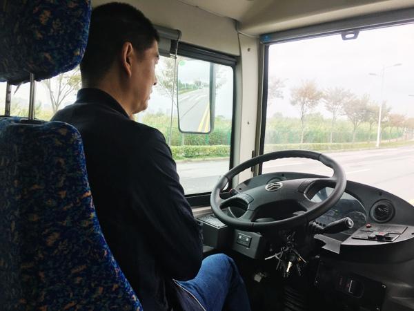 小巴测试全程不需要人工驾驶