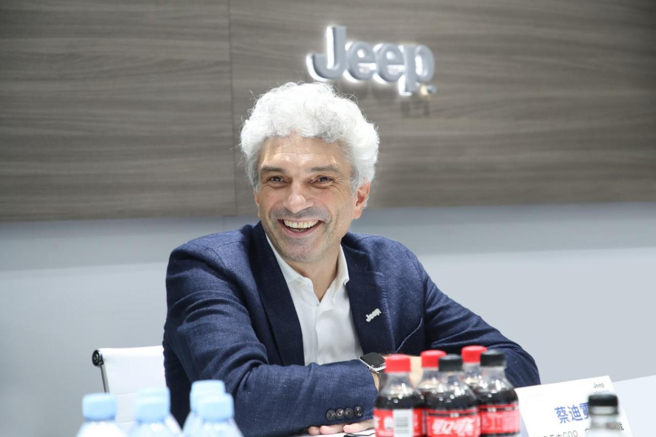 菲克亚太首席运营官、广汽菲克总裁蔡迪霓(Massimiliano Trantini)