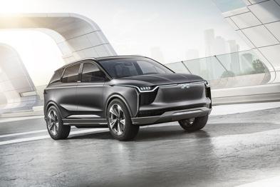 """爱驰汽车""""首款SUV+首款超跑""""谍照曝光,两条产品线布局完成"""