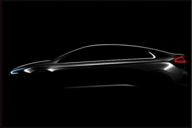 现代新款轿车Ioniq曝光,有三种绿色动力选择