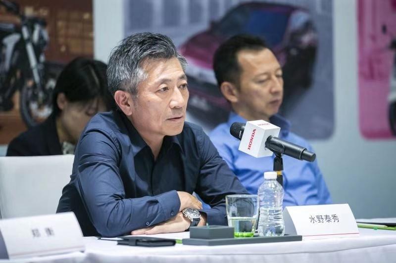 本田技研工业株式会社常务执行董事兼中国本部长水野泰秀