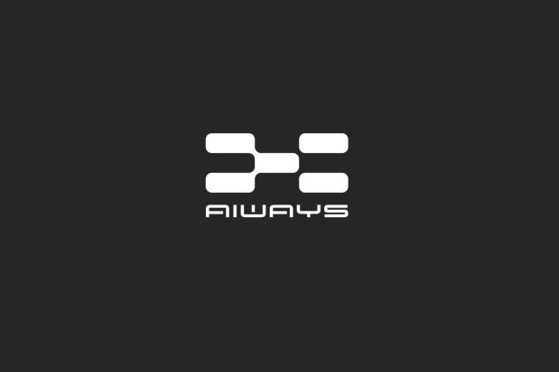 """爱驰亿维全新logo""""AIWAYS"""",意为AI ON THE WAY(人工智能在路上)"""