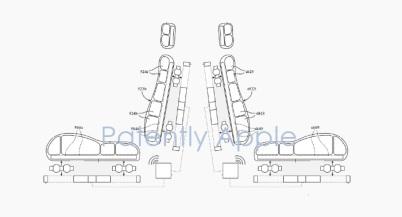 苹果运动控制汽车座椅系统专利