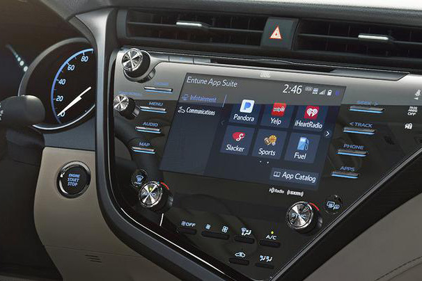 Xevo为2018款丰田凯美瑞车载系统提供软件套件