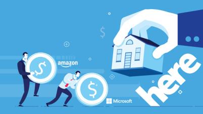 微软同时与HERE、TomTom达成新合作,这是要憋什么大招?
