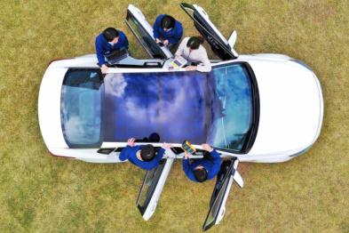 現代為特定車型研發太陽能充電系統,或有利車輛出口提高燃油效率