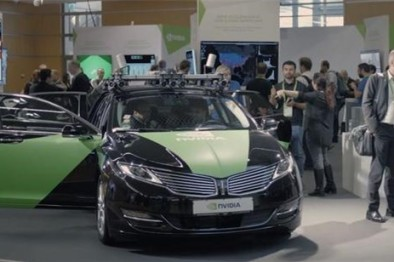 英伟达正开发无人驾驶汽车,还能刷脸上车