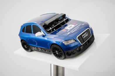 奥迪通过模型车训练驾驶辅助技术的机器学习算法