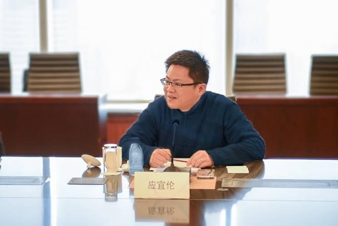 ▲上海博泰董事长应宜伦讲话