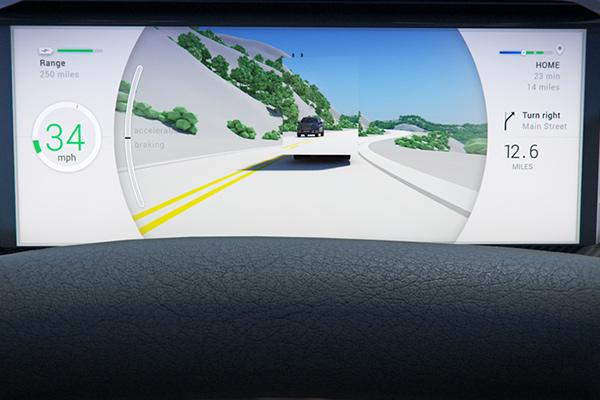 XtraVue超级视距系统,可利用前车摄像头看到对向来车
