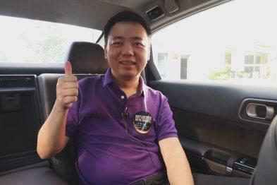 武汉大学计算机学院副教授李明体验东风雪铁龙C6