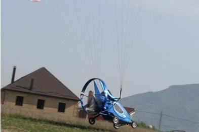 俄飞行电动车接受预订,飞行速度70km/h
