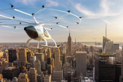 Volocopter空中出租车业务落户新加坡