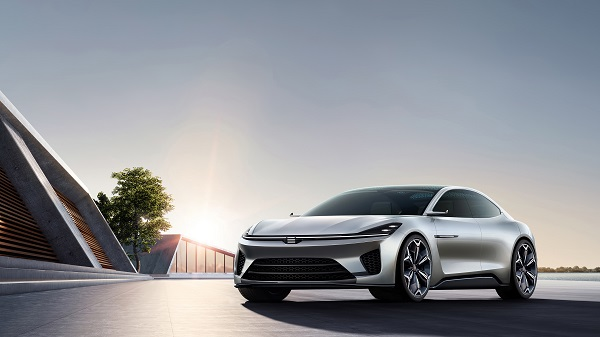 天际汽车下一代全新车型,高能量豪华运动轿车ME-S在第十八届上海车展全球首发