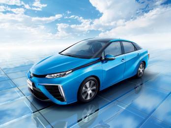 丰田发布燃料电池汽车Mirai,12月15日在日本开售