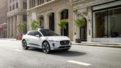 Waymo与捷豹路虎将定制I-PACE,2020上线自动驾驶网约车