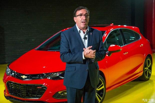"""雪佛兰品牌总裁Alan Batey公布了雪佛兰在中国的""""20-20计划"""""""