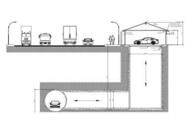 马斯克的隧道公司有新设计:车库和地下超级高铁相连