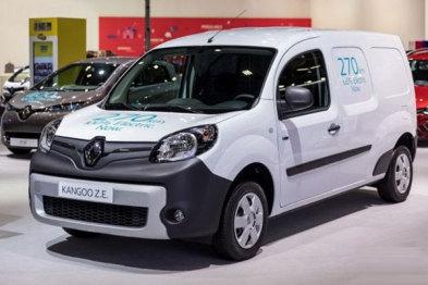 雷诺发布新款Kangoo ZE和Master ZE电动商用车