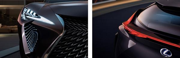 全新雷克萨斯UX概念车