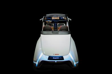 博世将在CES展示一辆全新概念车
