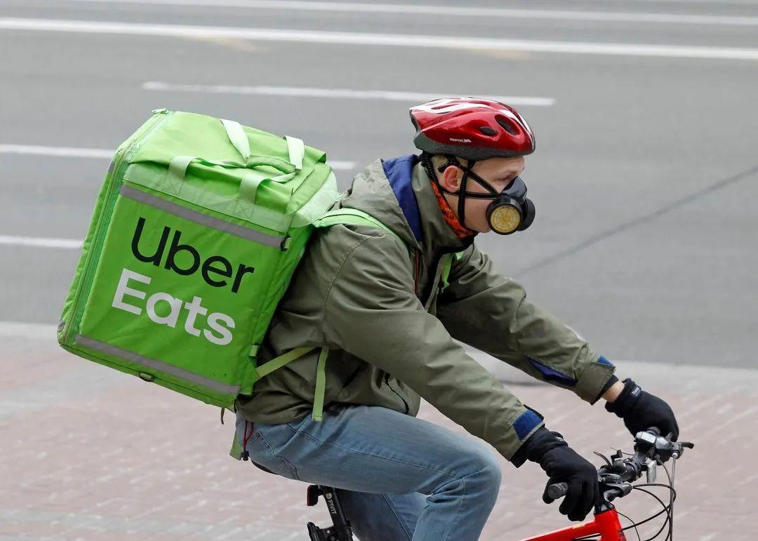 疫情下Uber的外卖业务,来源:Observer