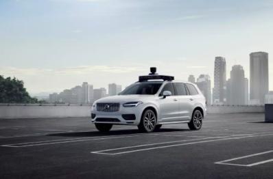 第一批量产沃尔沃优步自动驾驶基础车型下线