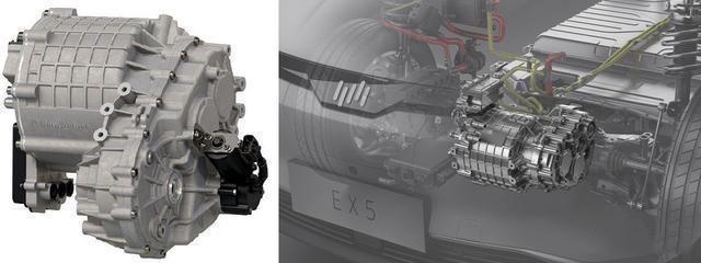 博格华纳的eDM模块和威马电机对比