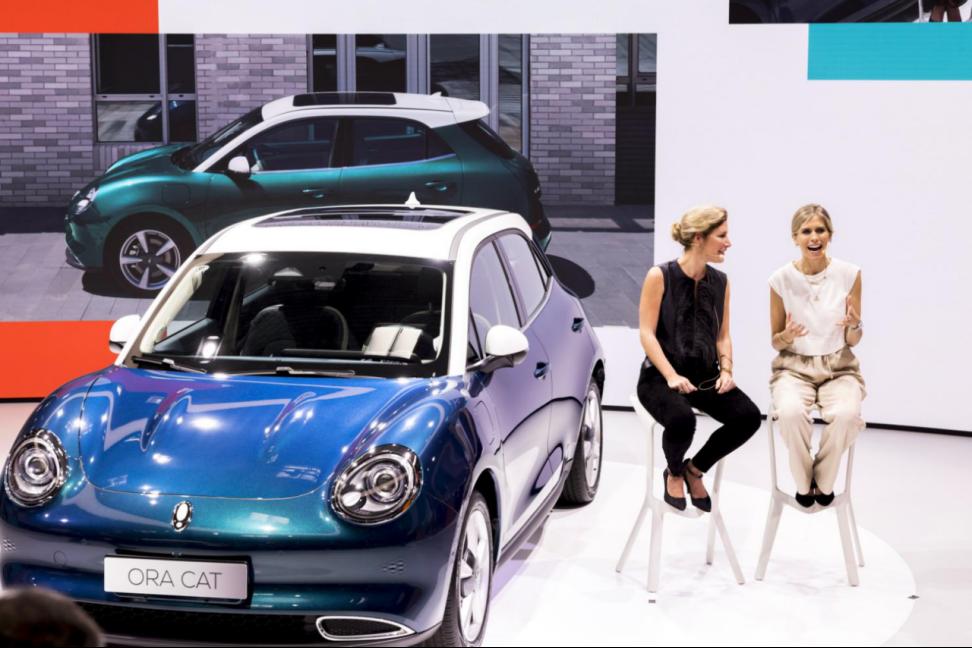 2021慕尼黑车展欧拉展台