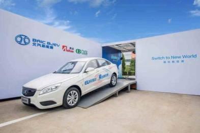 北汽新能源发布中长期规划,2021年将推6款新车