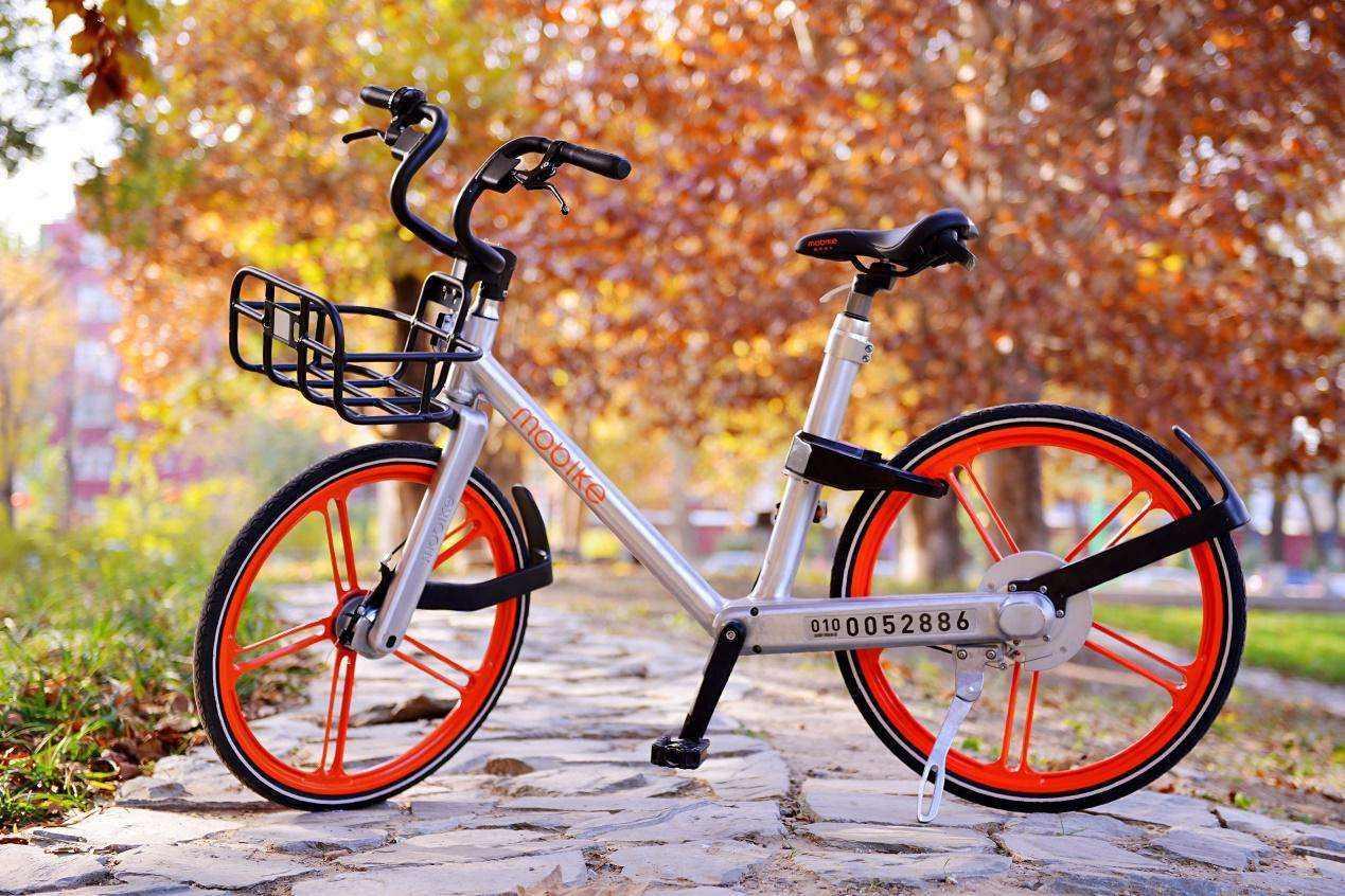 摩拜单车采用定制化设计