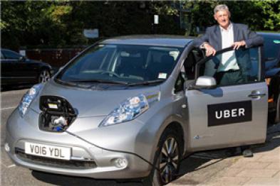 Uber上调伦敦打车费用,用于司机更换电动车