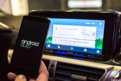 谷歌的Android Auto正式登陆日本,与苹果相爱相杀