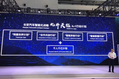 长安汽车发布北斗天枢智能化战略,2020年不再生产非联网新车