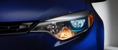 节能+散热,丰田分解研发车头灯LED