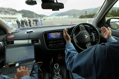 三菱电机推出雪天自动驾驶新技术