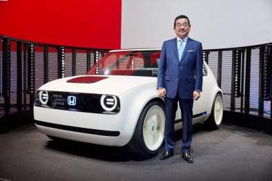 本田Urban EV原型极大程度还原概念车的设计