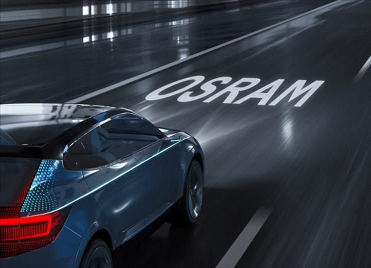 欧司朗研发新款LED智能车头灯