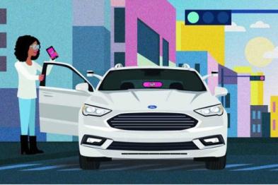 福特和Lyft合作,将无人驾驶汽车引入市场