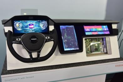 伟世通:牵手腾讯广汽,SmartCore与DriveCore两手抓 | CES 2019