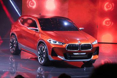 宝马巴黎车展发布X2概念车,BMW Connected年底引进国内