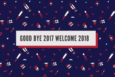 【一周動態】再見,2017;你好,2018