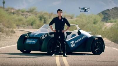 格兰特和Mouser开发自动驾驶3D打印车