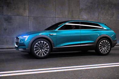 奥迪2020年前推三款不同型电动车